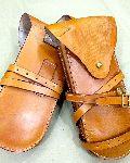 WWI Leather Saddle Wallets