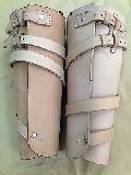 WWI White Leather Leggings