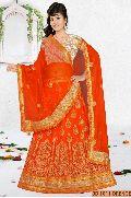 Orange Collection Bridal Lehenga Choli