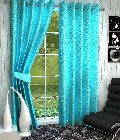 long crush curtains