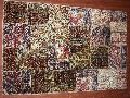 Hand knotted Patchwork Carpet