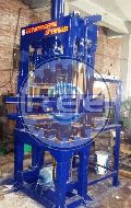 Semi Automatic Vibro Press Brick Making Machine