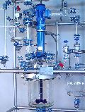 glass reaction distillation assembly