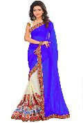 Georgette Wedding Style Sarees