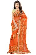Traditional  Net Sarees