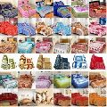 Colored Cotton Double Bed Sheet