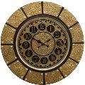 Decorative Brass Wall Clock
