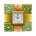 Decorative Square Shaped Wall Clock