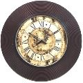 DESIGNER BRASS WALL CLOCK