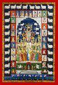 Shrinathji 24 Shringar Pichwai