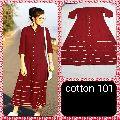 Cotton Long Kurtis