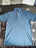 Blue Half Sleeve Polo T-Shirt