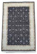 Hand Knotted Wool & Silk Carpet -08