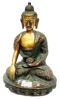 Brass Buddha in Double Color