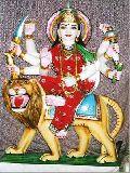 Marble Durga Ji Statues