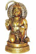 BHS-02 Brass Hanuman Statue