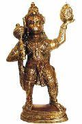 BHS-04 Brass Hanuman Statue