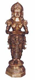 BLS-01 Brass Laxmi Statue