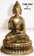 Brass Buddha Statue BBS - 13