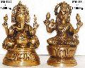 Brass Ganesh Statue- Lg- 05