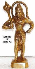 Brass Hanuman Statue- Bhs-06