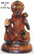 Brass Hanuman Statue- Bhs- 08