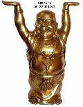 Brass Laughing Buddha- Blb - 07