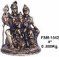 Brass Shiva Statue BSS-10