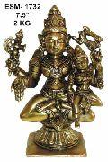 Brass Shiva Statue- Bss-13
