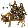 Brass shiva statue- BSS-15