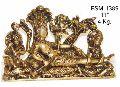 Brass Vishnu Laxmi BVL-04