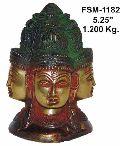 BSS-04 Brass Shiva Statue