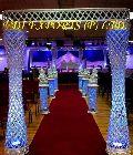 Crystal Wedding Enterance Kite Gate