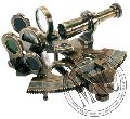 Antiqued Brass Sextant
