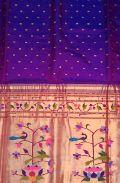 real jari traditional  Paithani colour