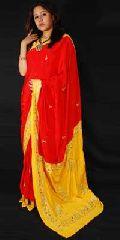 Ladies Embroidered Saree(ESS127_RSS2068)
