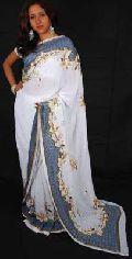Ladies Embroidered Saree(ESS137_RSS2183)