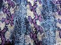 Printed Polyester Chiffon Fabric (Snake Print)