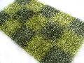 Polyester Shaggy Green Rug