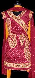 Different Bordered Brocade Salwar Kameez