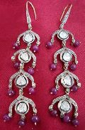 Diamond Polki Earrings (1046)