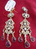 Diamond Polki Earrings (1050)