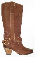 Ladies Leather Boot (DLE - 29453 - JL)