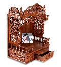 Shilpi Handcarved Classic Sheesham Wood Temple