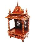 Shilpi Hand Crafted Wooden Puja Temple