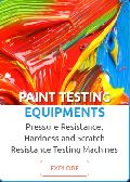 Paint Testing Equipments
