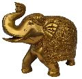 Brass Elephant Statue For Gift and Decoration by Aakrati