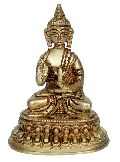 Blessing Budhha Brass Statue