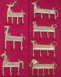 Brass Wall Hooks - Animal Shape