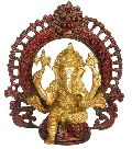 Religious Lord Ganesha Statue Made in Brass Metal